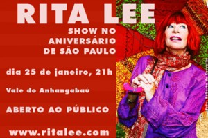 Rita Lee em São Paulo (SP)